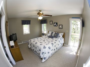 Second Floor Master Bedroom (Door Leads to Private Balcony Deck)