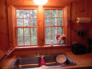 Kennebunkport cabin photo - Kitchen View