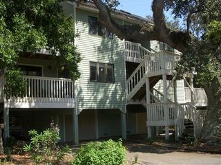 Bald Head Island condo photo - Condo is off Stede Bonnet central to the island, 5 minutes to south beach, pool