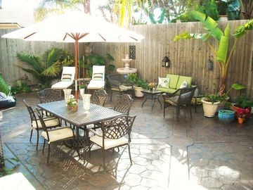 Great outdoor space to relax, grill and hang out