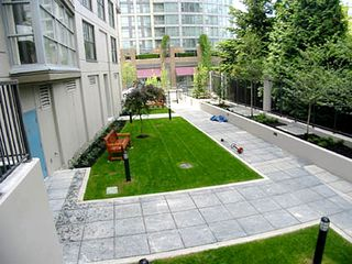 Vancouver apartment photo - Back Garden area (part of complex but not visible from Suite)