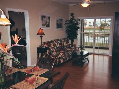Rehoboth Beach condo rental - Dining Room/Living Room/screened in porch