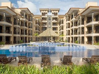 Jaco condo photo - The Resort's Multi Level Pool is by far the Largest on the Beach