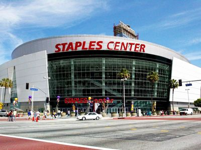 STAPLES Center for sports and entertainment events. 1 mile away