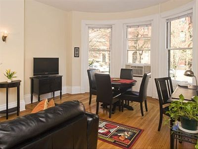 Spacious Back Bay furnished apartment