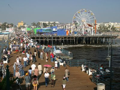 Santa Monica Pier and Amusement Park