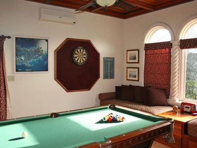 Kismet St. John Virgin Islands - Billiard and gaming room
