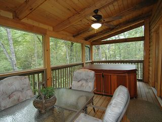 Dining and Spa - Wears Valley cabin vacation rental photo
