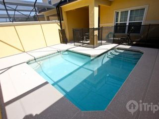 Paradise Palms townhome photo - Private splash pool