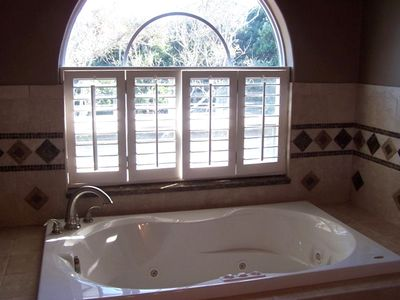 Brand New Custom Master Bath w Jacuzzi Tub, Double Sinks, Double Shower, Granite