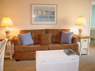Kingston Plantation condo photo - Spacious living area with new furniture!