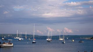 Boats at Harbor Springs - Petoskey condo vacation rental photo