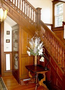 Canandaigua house rental - Front Foyer Entrance