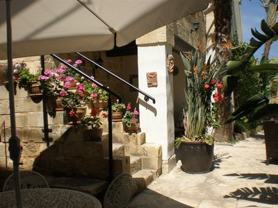 Zurrieq farmhouse rental - pool area