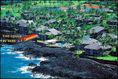Condo location on Kona coast