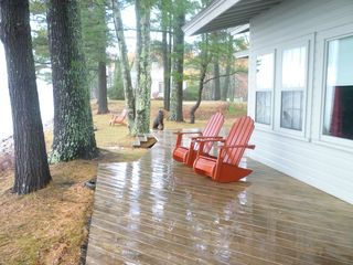 Ossipee Lake house photo - After the rain