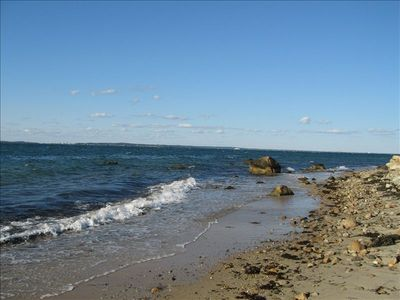 West Tisbury house rental - Our private association beach just short 5minute walk from the house.North Shore