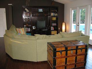 Rehoboth Beach house photo - Living Room filled with lots of interested book and tv!