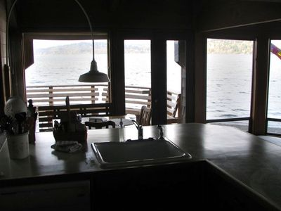 Kitchen at high tide