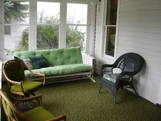 Charlevoix house photo - Covered Front Porch
