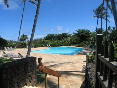 Poipu Sands Private Large Heated Pool/w/lap lane & 1 of 2 Gas Grill Areas
