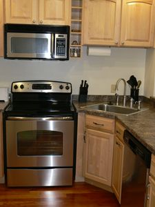Newly updated Kitchen with Hardwood floors