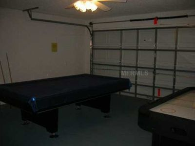 Double Car Garage Set as Games Room