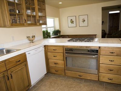 Kamas house rental - kitchen