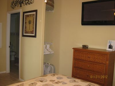TV in master bedroom