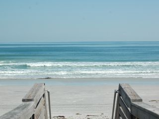 New Smyrna Beach cottage photo - Awesome beach at the end of our street!