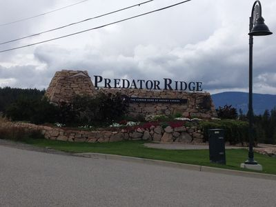 Entrance to Predator Ridge