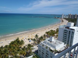 Isla Verde condo photo - 1.5 Miles of white sandy swimming beach
