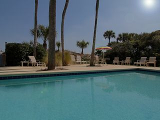 Palmetto Dunes house photo - view of pool and dune