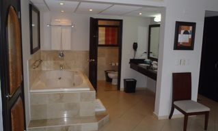 Playa Cofresi condo photo - Double Sinks and Hair Dryer