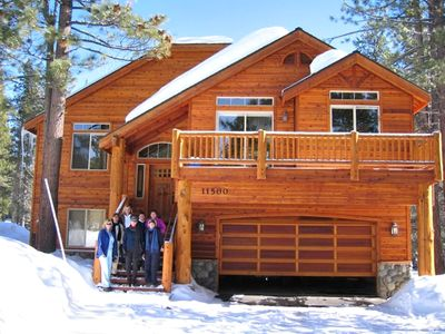 Vacation in Style!! Home on the Tahoe Donner Championship golf course