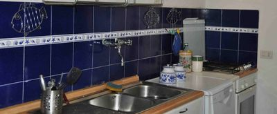 San Felice Circeo villa rental - The kitchen