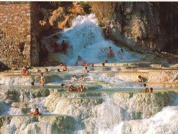 Sulphur SPA and pool near Saturnia