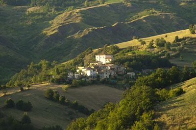 View of the village of Ca' Antonio