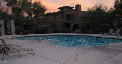 One of two beautiful pools in Avian at Grayhawk.