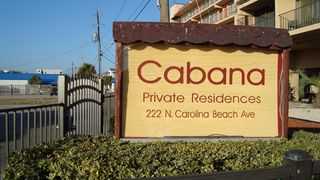 Carolina Beach condo photo - The oceanfront Cabana. A gated community.