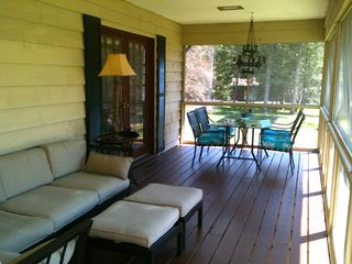 Lenox house photo - Screened Porch.