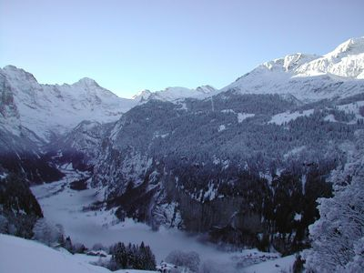 Magical Wengen winter wonderland