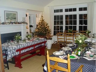 Dorset house photo - Christmas. Plenty of room to seat a crowd.