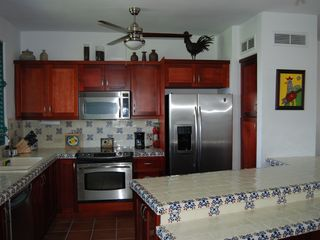 Rio Grande villa photo - Kitchen with Stainless Steel appliances