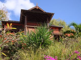 Front view of Ti Zan cottage - Cap Estate villa vacation rental photo
