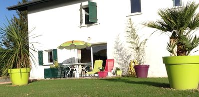 Beautiful apartment of 45 m2 with terrace and garden, quiet between sea and mountains