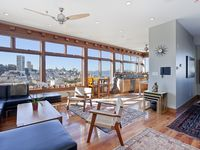 Spectacular Telegraph Hill 3br Penthouse With Private Deck