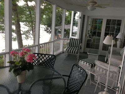 Beautiful Year Round Rental Ideally Situated on Lake Sunapee, near Mt. Sunapee.