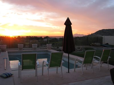 empty chair just waiting for you to relax and enjoy the sunrise!