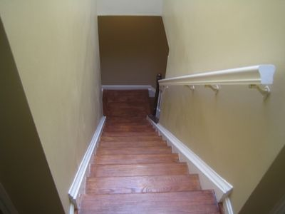 Stairs leading to Bedrooms